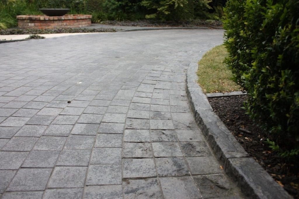 Granite and Basalt paving