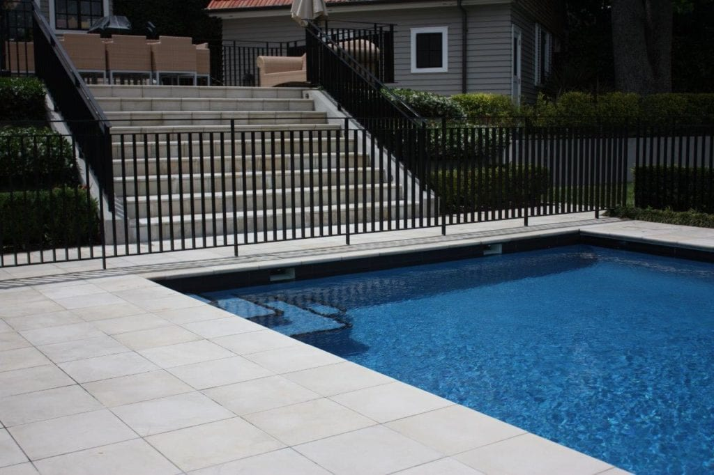 Pool Paving & Coping 1